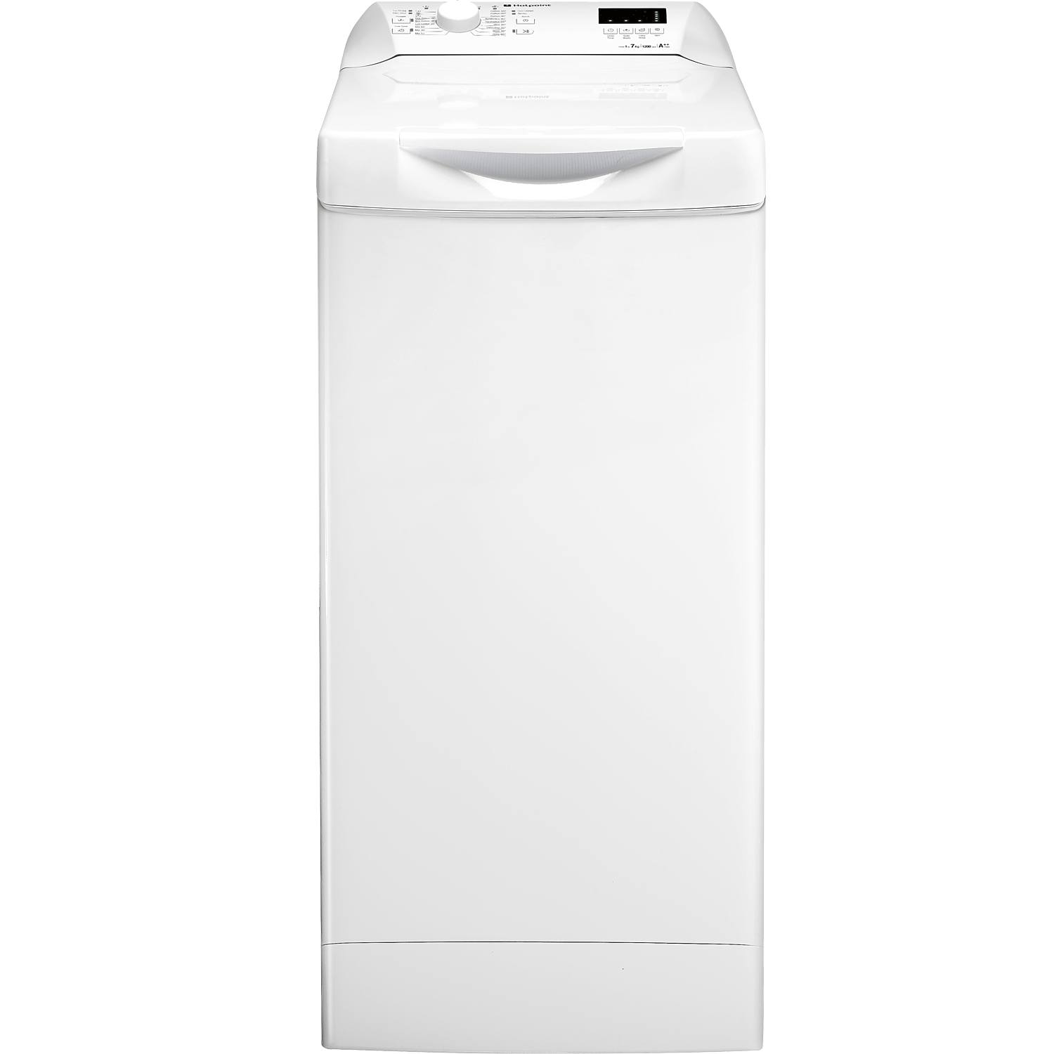 Hotpoint Top Loading Washing Machine Hotpoint Aquarius Wmtf722h 7kg 1200 Spin Top Loading Washing