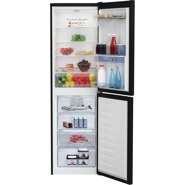 beko cfg1582db a frost free fridge freezer with chilled water dispenser black ebay. Black Bedroom Furniture Sets. Home Design Ideas