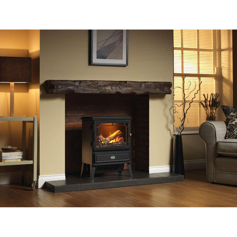 dimplex gos20 gosford opti myst log effect 2000w electric stove in